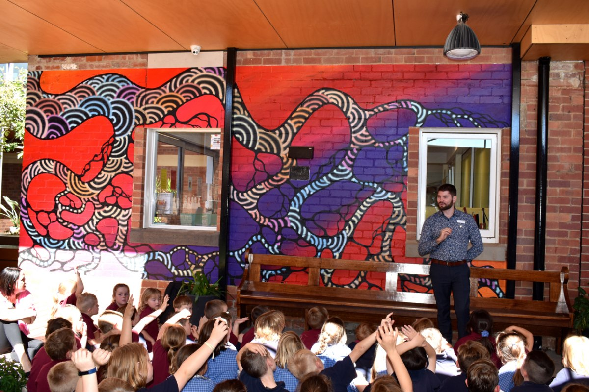 Indigenous Mural Celebrated
